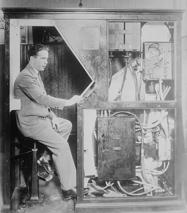 Anatol Josepho historia del fotomatón