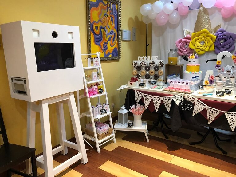 Fotomatón y Candy Bar